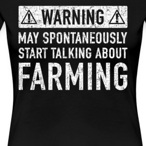 Original Farmers Gift: Order Here - Women's Premium T-Shirt
