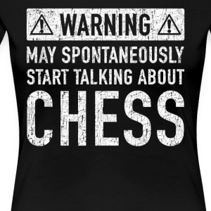Original Chess Gift: Order Here - Women's Premium T-Shirt