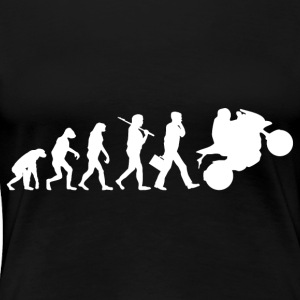 motorcycle evolution - Women's Premium T-Shirt