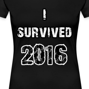 Survived 2016 - Women's Premium T-Shirt