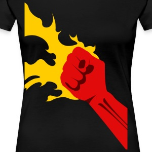 Power Fist - Frauen Premium T-Shirt