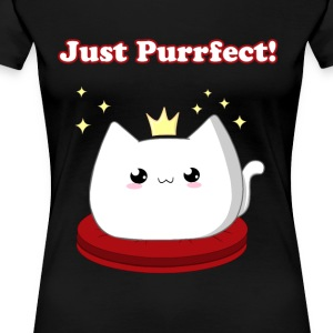 Cat Princess - Premium-T-shirt dam