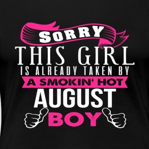 This Girl Is Already Taken By AUGUST - Women's Premium T-Shirt