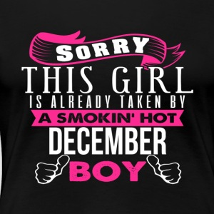 This Girl Is Already Taken By DECEMBER - Women's Premium T-Shirt