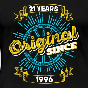 21st birthday 1996 - Women's Premium T-Shirt