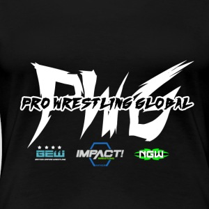 PWG Pro Wrestling Global - Premium-T-shirt dam