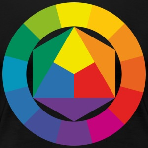 color theory - Women's Premium T-Shirt