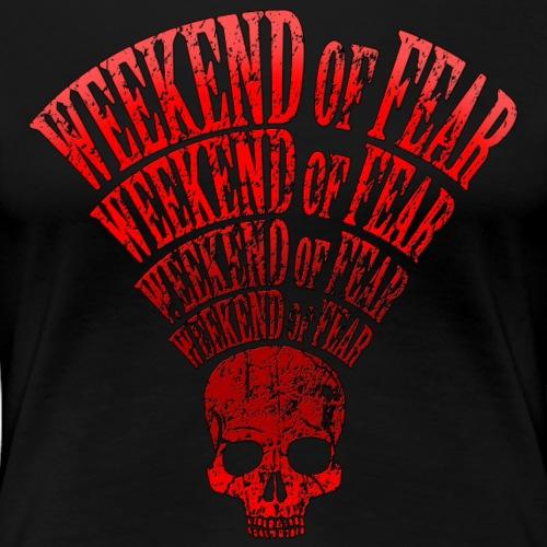 Weekend of Fear Vintage 07 Rot - Frauen Premium T-Shirt