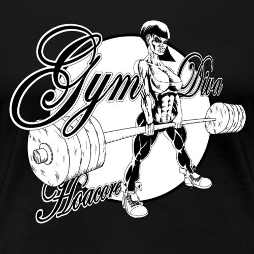 Hoacore - Gymdiva - Frauen Premium T-Shirt