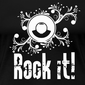 Rock it - Passion Music - Premium-T-shirt dam