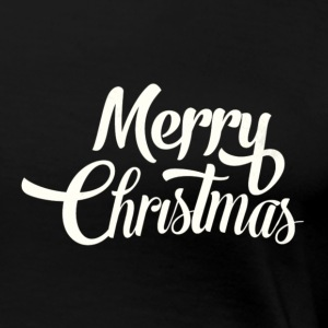 Merry Christmas Design - Women's Premium T-Shirt