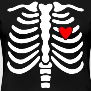 Skeleton-Skeleton - Women's Premium T-Shirt