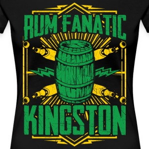 Camiseta de Ron Fanatic - Kingston, Jamaica - Camiseta premium mujer
