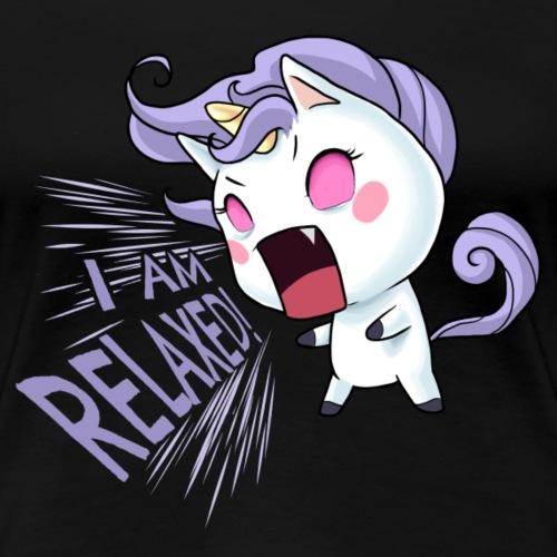 I am relaxed! - Frauen Premium T-Shirt