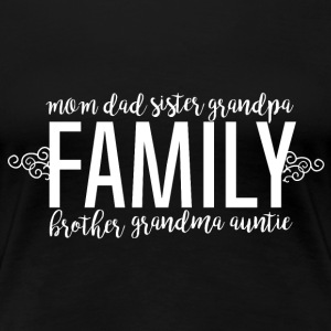 Family Love - Family - Premium T-skjorte for kvinner