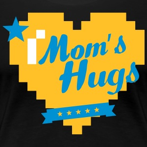 Mom's Hughs Mother's Day - Mother's Day - Women's Premium T-Shirt