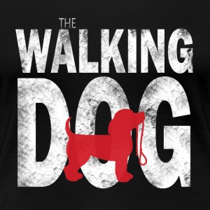 The Dog Walking - Maglietta Premium da donna
