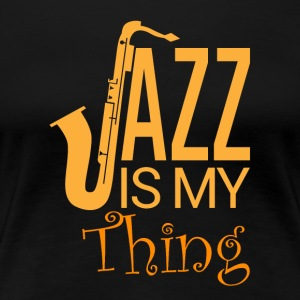 Jazz - My Passion - Dame premium T-shirt