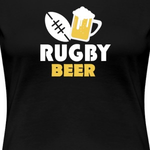 Rugby and beer - Frauen Premium T-Shirt