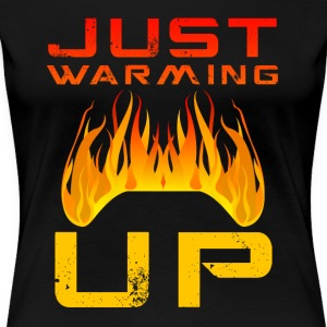 Net Warming Up van Juiceman Benji Gaming - Vrouwen Premium T-shirt