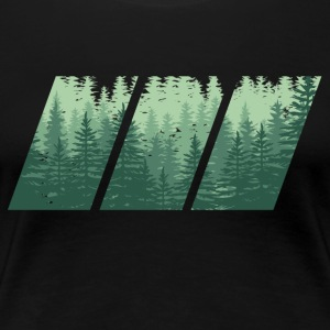 WOOD - Women's Premium T-Shirt