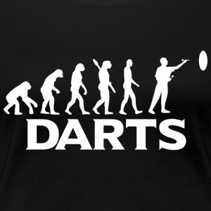 evolution DARTS DART DARTEN - Frauen Premium T-Shirt