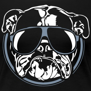COOL Bulldog Anglais - English Bulldog - T-shirt Premium Femme