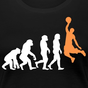 ++ Basketball Slam Dunk Evolution ++ - T-shirt Premium Femme