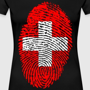 SWITZERLAND / SWITZERLAND - Women's Premium T-Shirt
