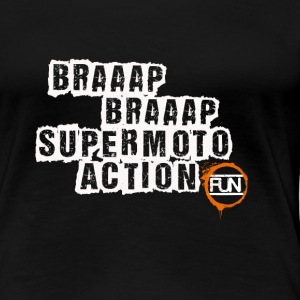 Supermoto Action - Women's Premium T-Shirt