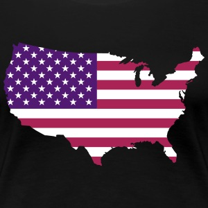 USA - Frauen Premium T-Shirt