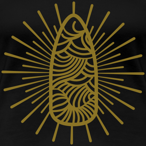 Nail Design Art - Vrouwen Premium T-shirt