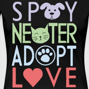 Adopt a pet - Women's Premium T-Shirt