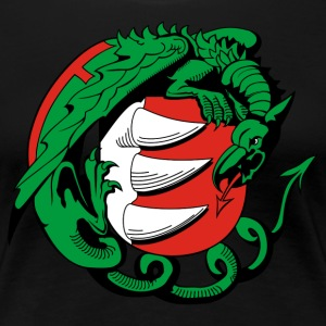 Hungary Dragon - Women's Premium T-Shirt