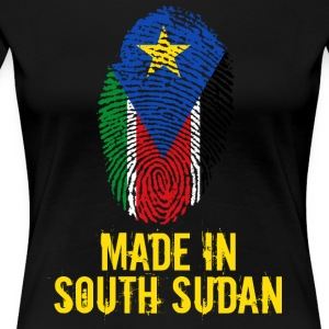 Made In South Sudan / Sydsudan - Premium-T-shirt dam