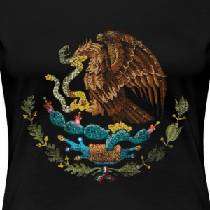 Mexican Coat of Arms Mexico Symbol - Women's Premium T-Shirt