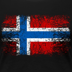 Norwegen 002 AllroundDesigns - Frauen Premium T-Shirt