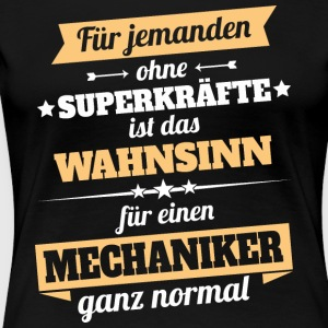Mechaniker - Held - Frauen Premium T-Shirt