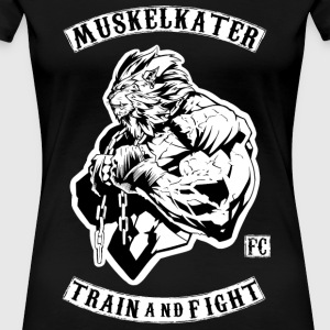 Muscle Stench Fight Club - Train And Fight - Women's Premium T-Shirt