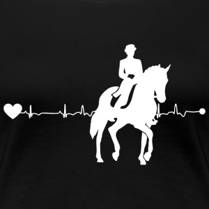 Heartline dressage - Women's Premium T-Shirt