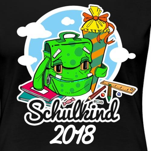 Schulkind 2018 - Erste Klasse Shirt - Frauen Premium T-Shirt