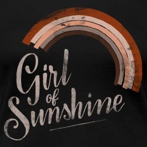 Girl of Sunshine - Frauen Premium T-Shirt