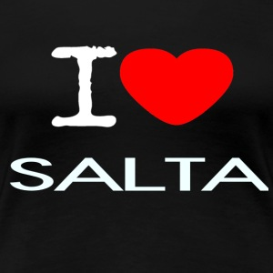 I LOVE SALTA - Women's Premium T-Shirt