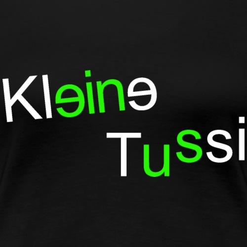 Kleine Tussi - 07 - Frauen Premium T-Shirt