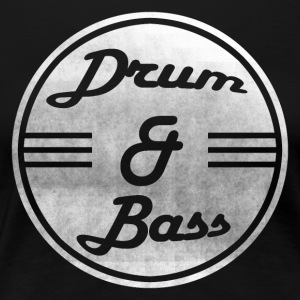 Drum & Bass - Frauen Premium T-Shirt