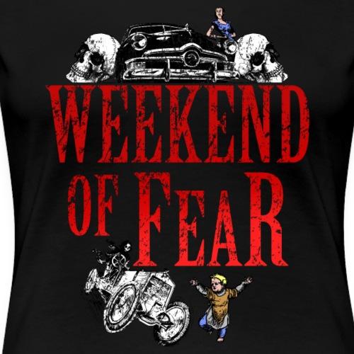Weekend of Fear Vintage 01 Auto - Frauen Premium T-Shirt