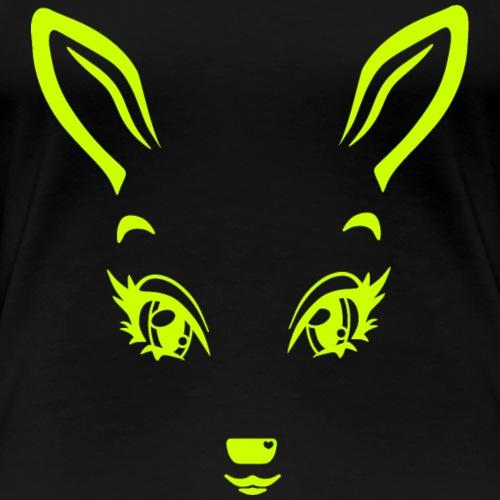 Kikykitz lemongreen - Frauen Premium T-Shirt
