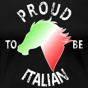 Proud To Be Italian - Frauen Premium T-Shirt