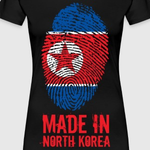 Made In North Korea / Nordkorea / 조선민주주의인민공화국 - Frauen Premium T-Shirt
