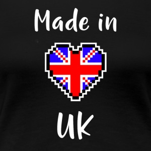 Made in UK - Premium T-skjorte for kvinner